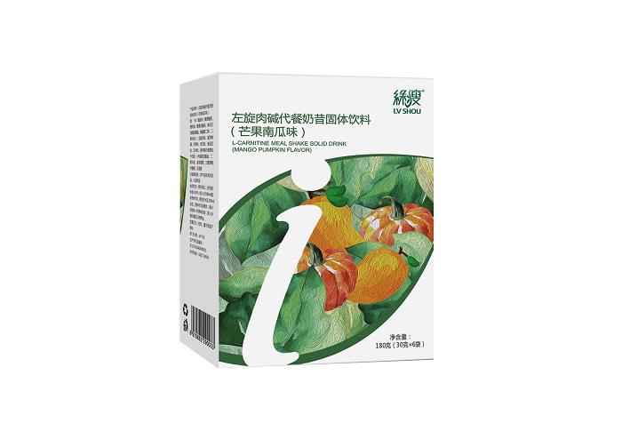 绿瘦左旋肉碱代餐奶昔(芒果南瓜味)