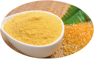 产品名称:玉米粉固体质量标准: 菌落总数≤1000cfu/g;霉菌酵母菌≤50cfu/g;大肠菌群≤3.0MPN/g;水分≤7.0 。比重根据生产需求定制。